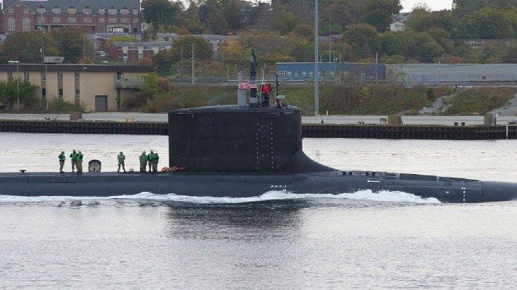 Gobernador fueguino denunció maniobras de un submarino nuclear de EEUU en el Atlántico Sur