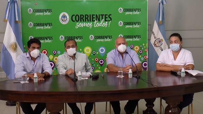Conferencia de Prensa – Salón Verde – Casa de Gobierno