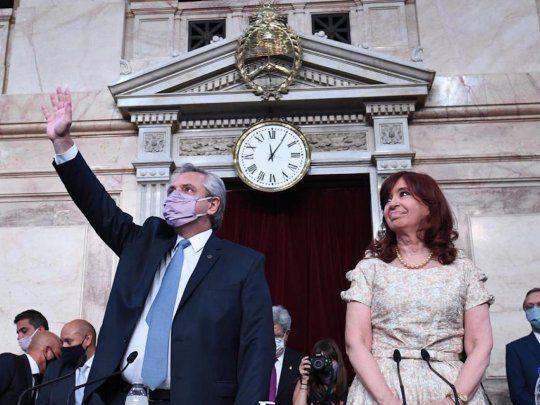Alberto hizo balance, cruzó a la oposición y lanzó la agenda pospandemia con leyes clave