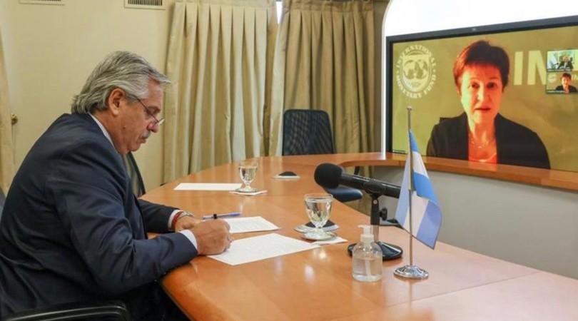 """Alberto Fernández sobre la deuda externa: """"en los términos que está, es impagable"""""""