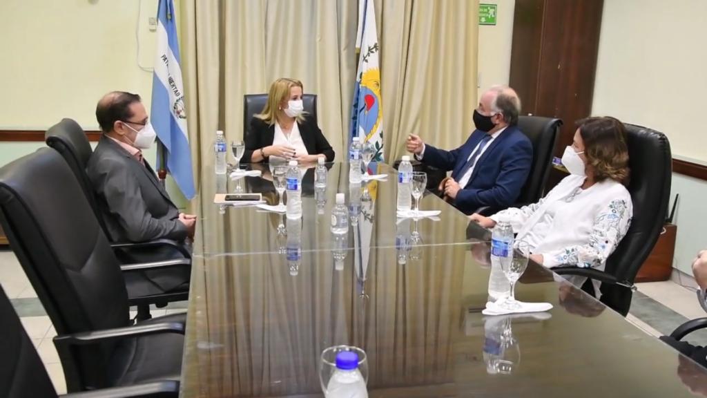 Reunión con los miembros de la Junta Electoral de cara a las elecciones 2021
