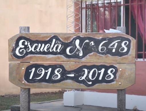 Inauguración de ampliaciones en la Escuela Primaria N° 648 de Santa Rosa