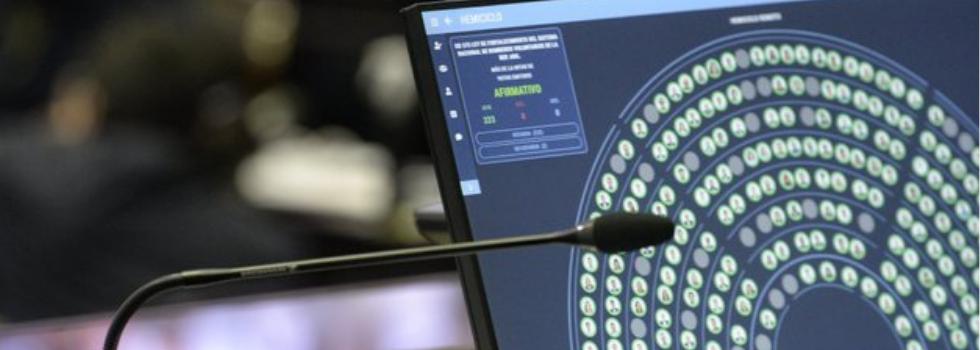 Media Sanción para el Proyecto de Ley de Fortalecimiento del Sistema Nacional de Bomberos Voluntarios