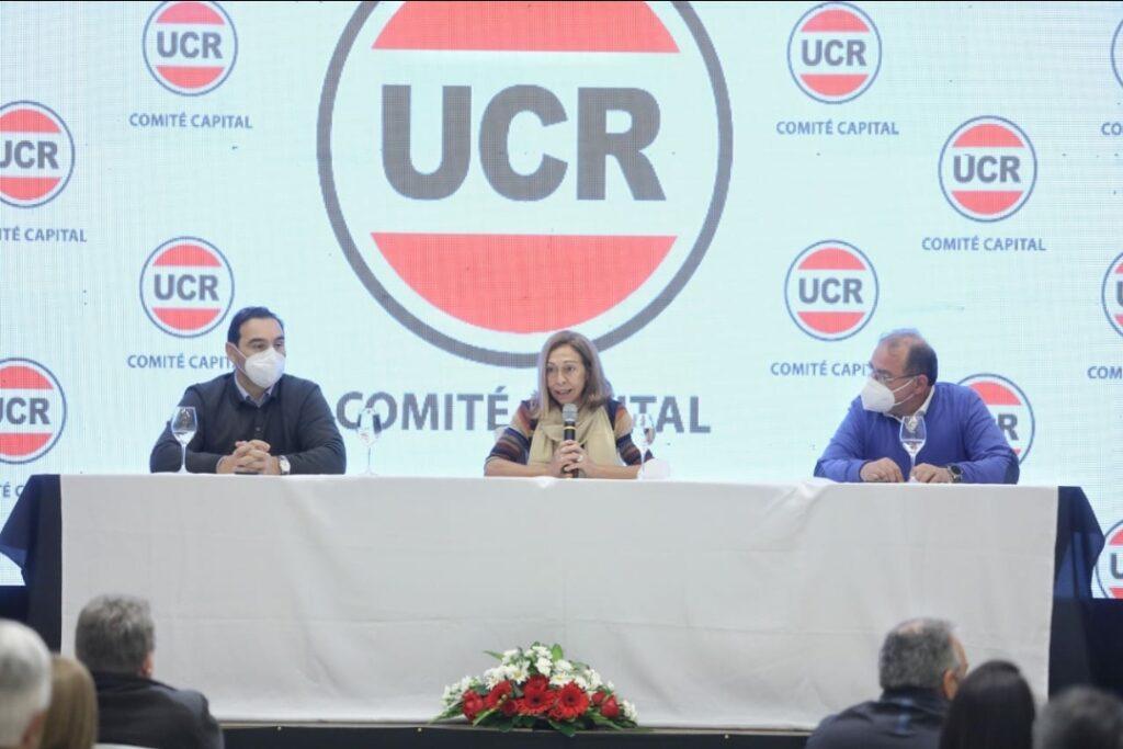 CÓNCLAVE EN CAPITAL: Contundente respaldo de la UCR a las reelecciones de Valdés y Tassano