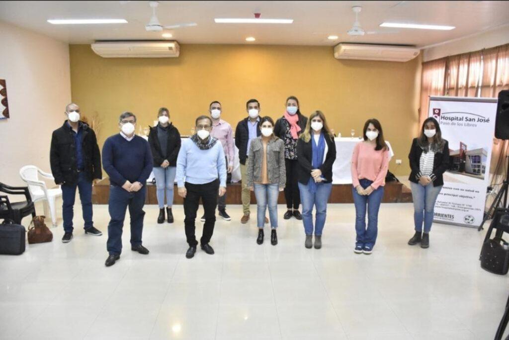 Cardozo encabezó una reunión del gabinete de Salud en Paso de los Libres