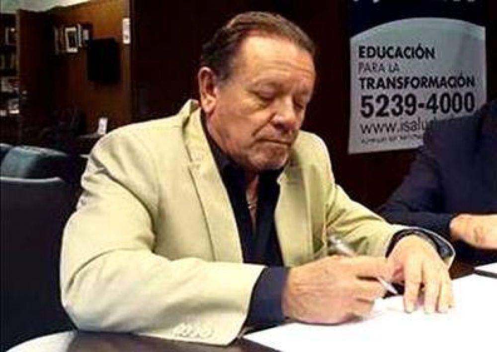 Murió Eugenio Zanarini, superintendente de Servicios de Salud