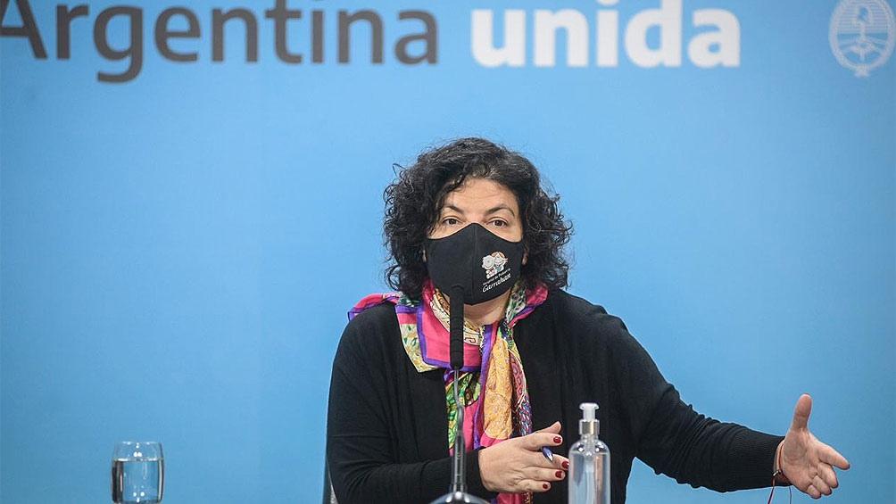 Carla Vizzotti se reúne con Gustavo Valdés y otros gobernadores