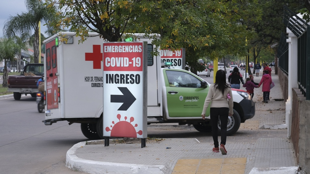 Corrientes registra 880 casos nuevos de Coronavirus: 397 en Capital y 483 en el Interior