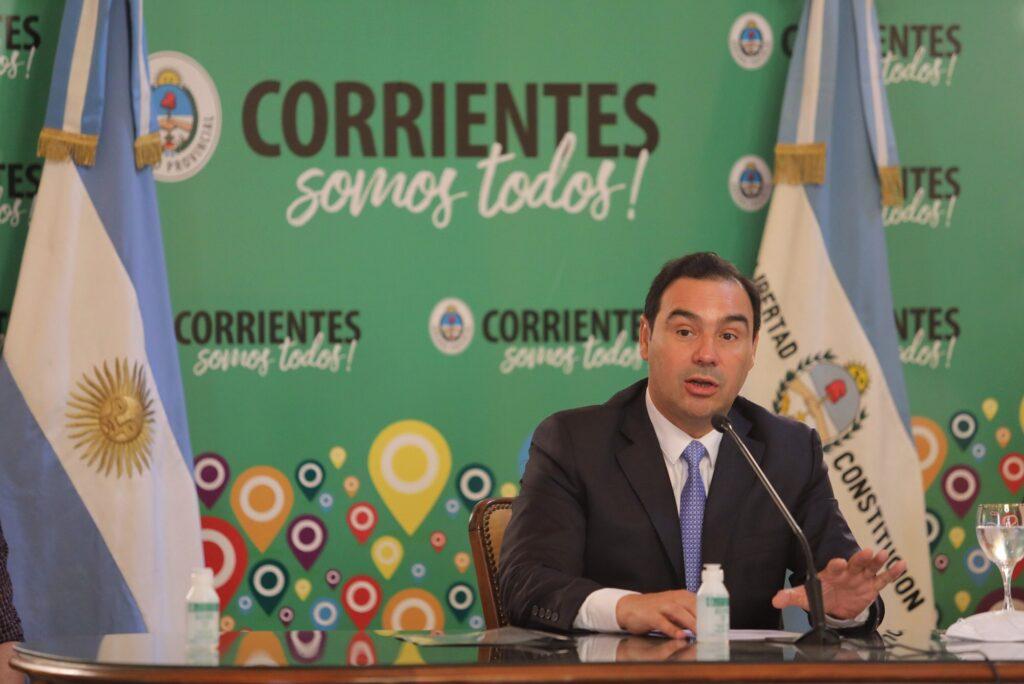 Coronavirus en Corrientes: Gustavo Valdés habló sobre el Día del Padre y las restricciones