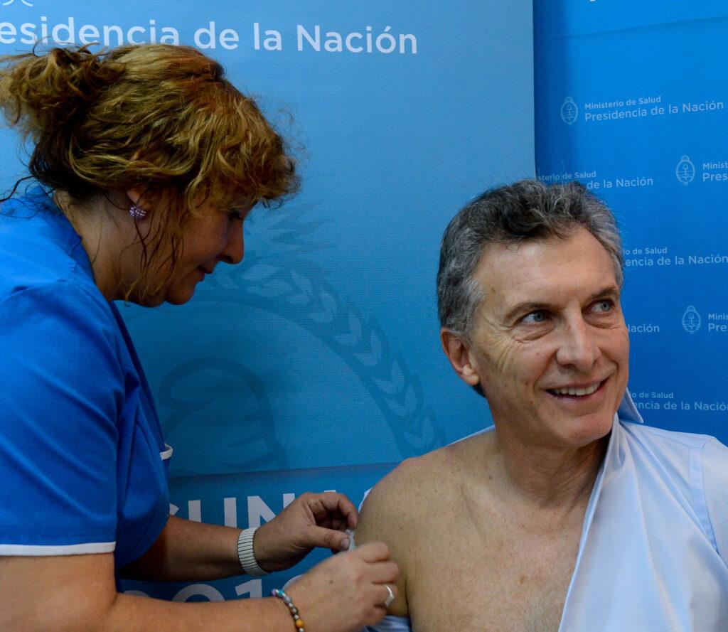 """Macri: """"Nunca creí que esta gripe un poco más grave es algo por lo que uno debe estar sin dormir"""""""