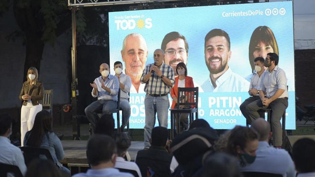 El Frente Corrientes de Todos presentó sus candidatos para las elecciones provinciales