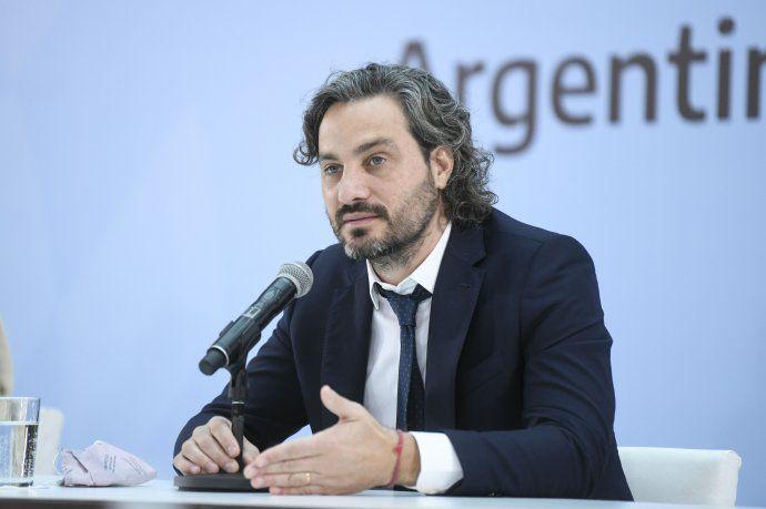 """Santiago Cafiero: """"La Argentina no es ese país de mierda que nos tratan de retratar"""""""