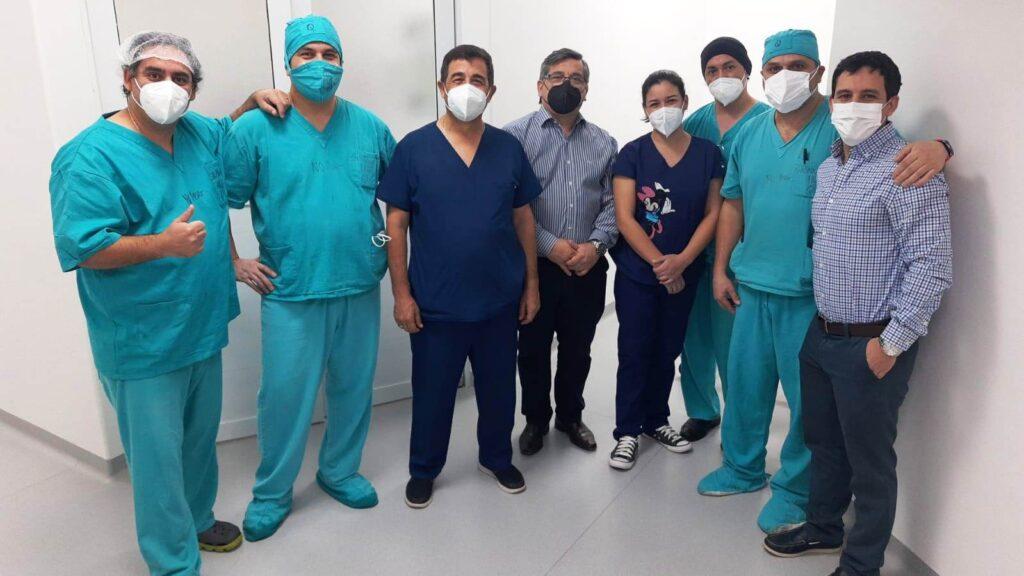 Médicos Itinerantes realizó cirugías laparoscópicas en Goya