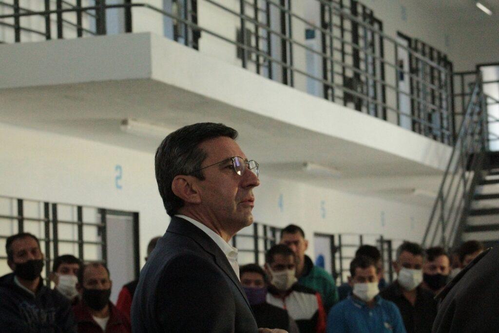 López Desimoni inspeccionó la Unidad Penal N° 1