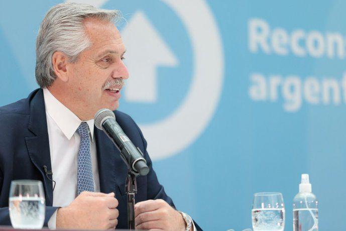 """Alberto Fernández: """"Confío en que el camino que iniciamos en 2019 no se altere"""""""