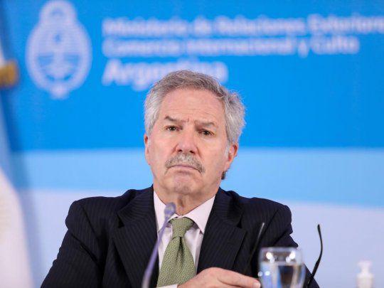 Tras entrerarse que quedaba fuera del Gabinete, Solá no participó de la cumbre de la CELAC
