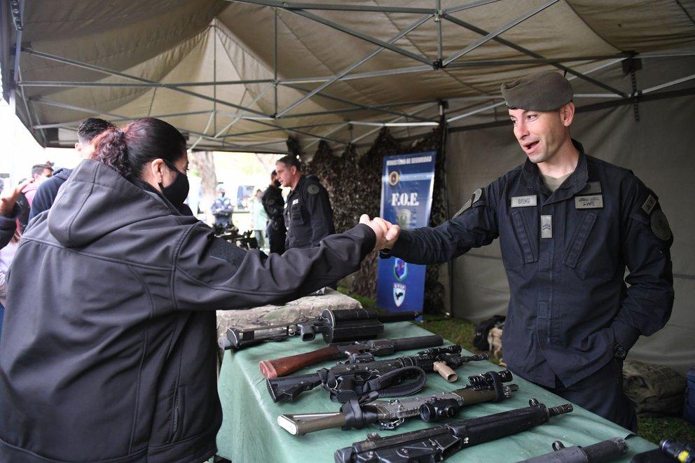 Policia Federal Argentina: 200 años de vida expuestos en una jornada a puertas abiertas