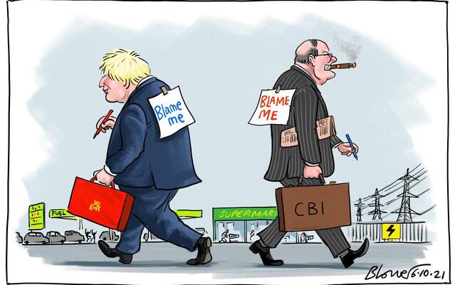 El Primer Ministro inglés intenta vender una nueva visión económica.